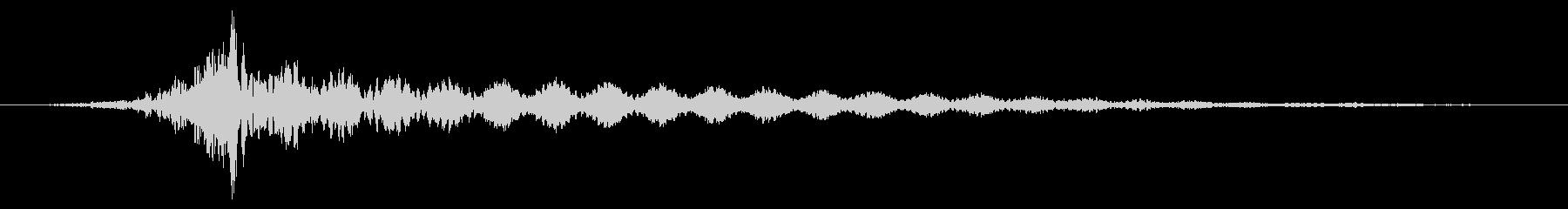 ホラー系アタック音126の未再生の波形