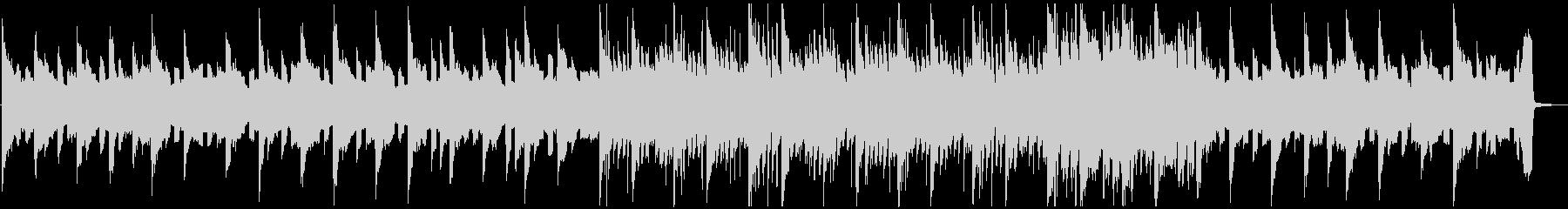 悲しいテクノ系ピアノバラードの未再生の波形