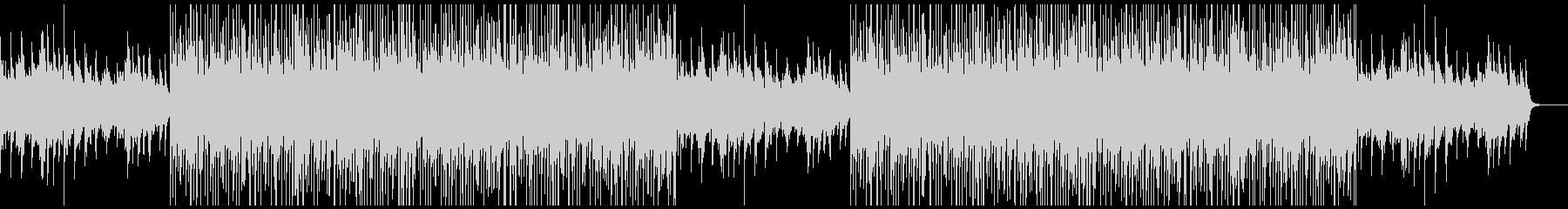 トラックメーカー風切ないピアノBGMの未再生の波形