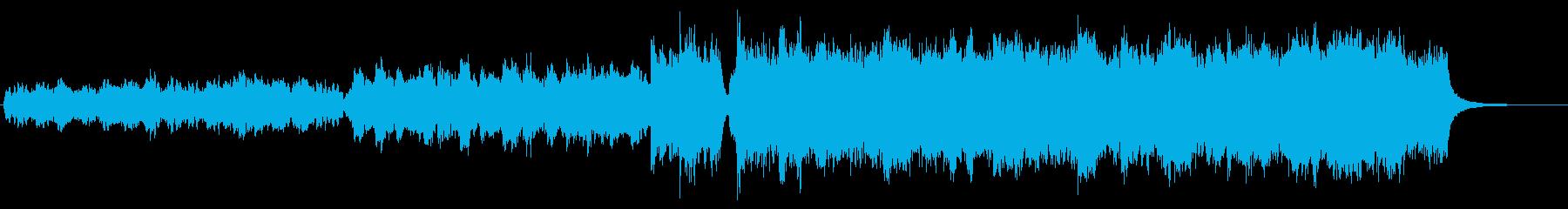 ファンタジー系 オープニングの再生済みの波形