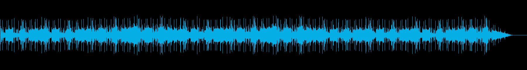 冷たい海底のようなLo-Fi風インストの再生済みの波形