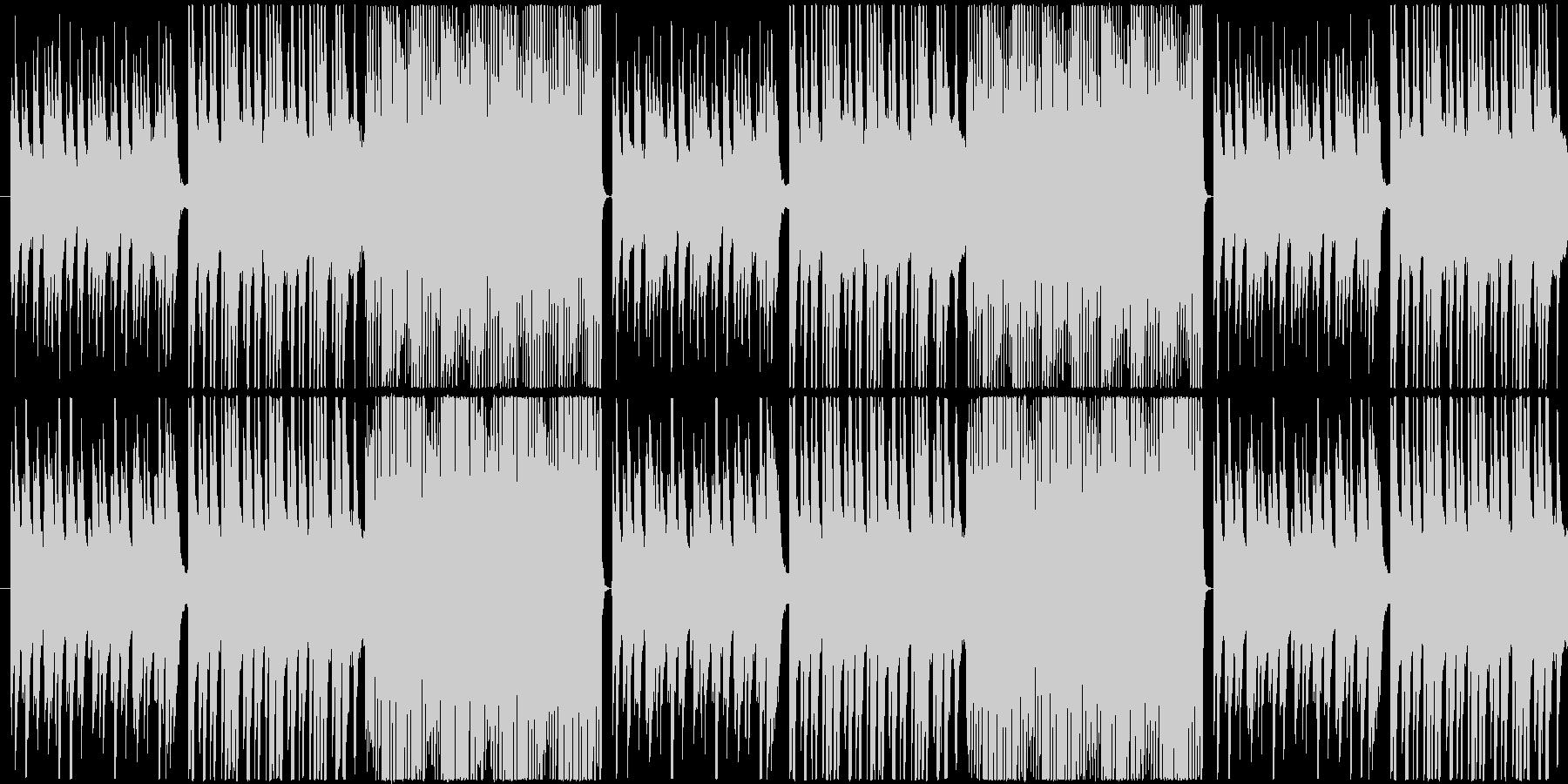 【しっとり系・ピアノ】雨のワルツの未再生の波形