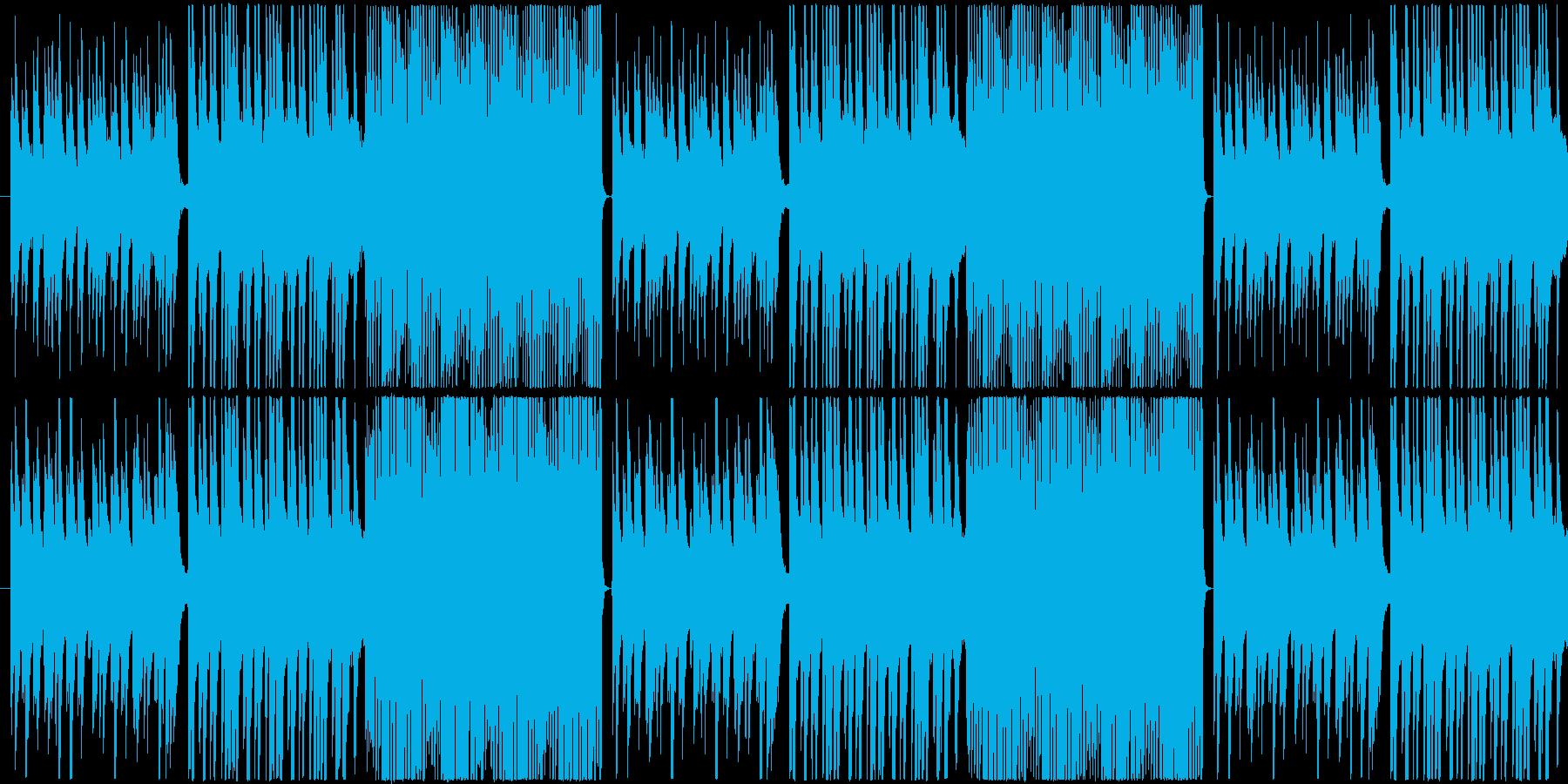【しっとり系・ピアノ】雨のワルツの再生済みの波形