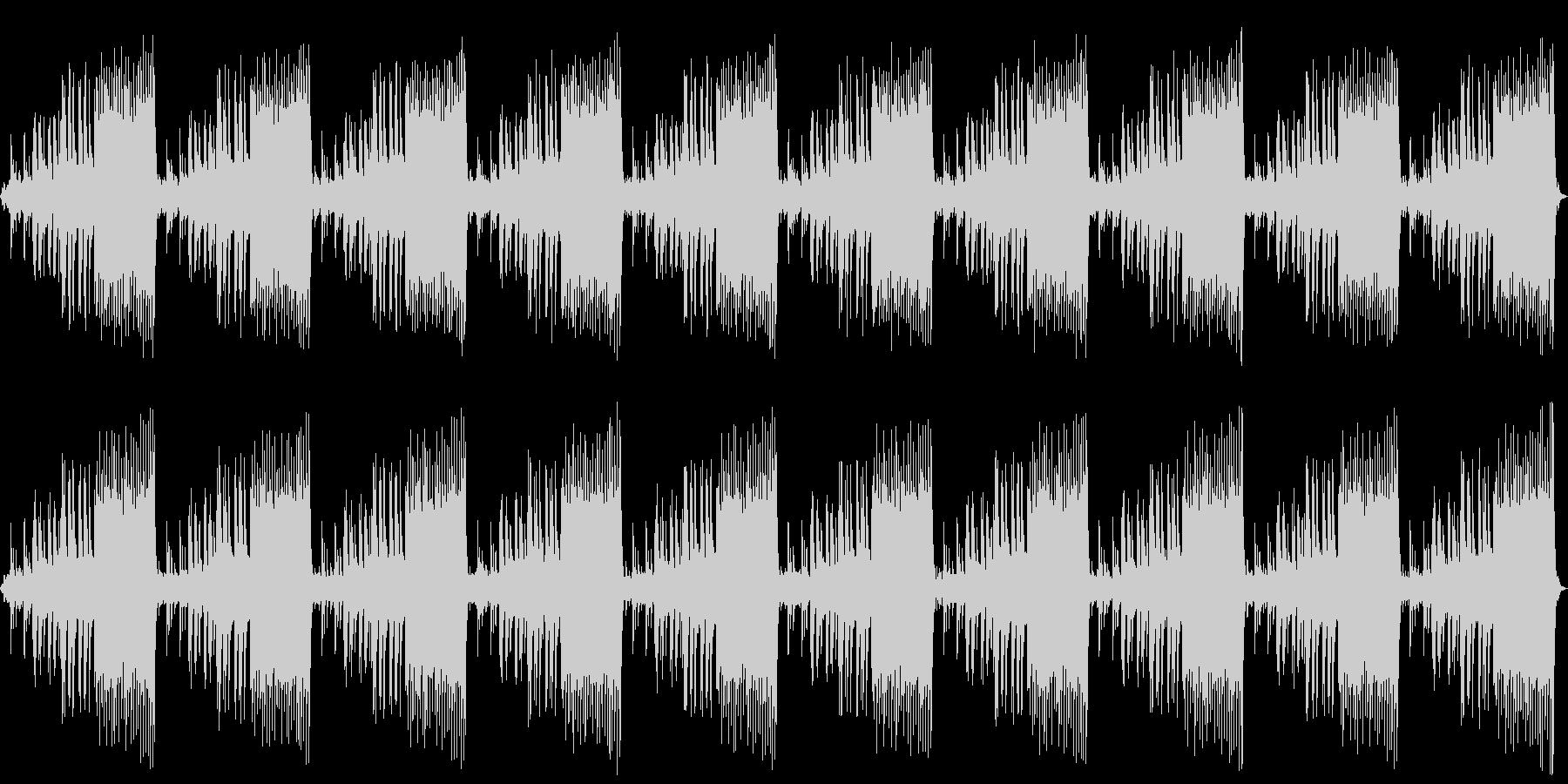 幻想的、切ない、悲しい、ピアノソロの未再生の波形