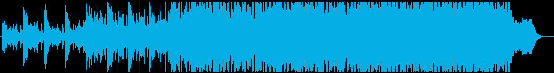 環境にやさしい事業紹介のCM曲-60秒の再生済みの波形