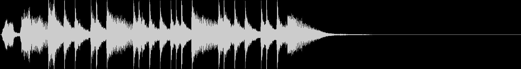 三味線ジングル 其の十二 曲芸2の未再生の波形