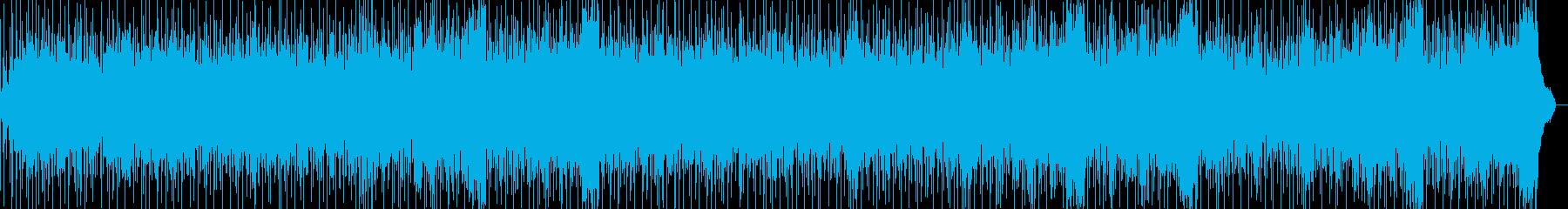 ポップな背景、ピアノアルペジオの再生済みの波形