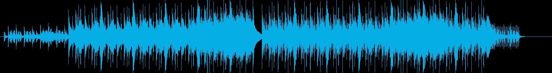 ダークなトラップミュージックの再生済みの波形