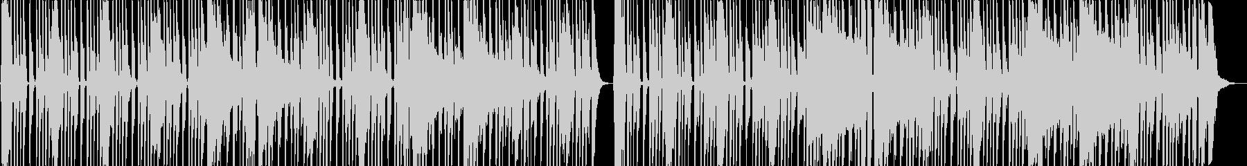 陽気なカントリー調のロックの未再生の波形
