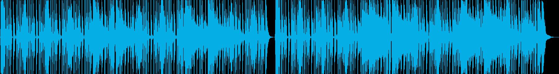 陽気なカントリー調のロックの再生済みの波形