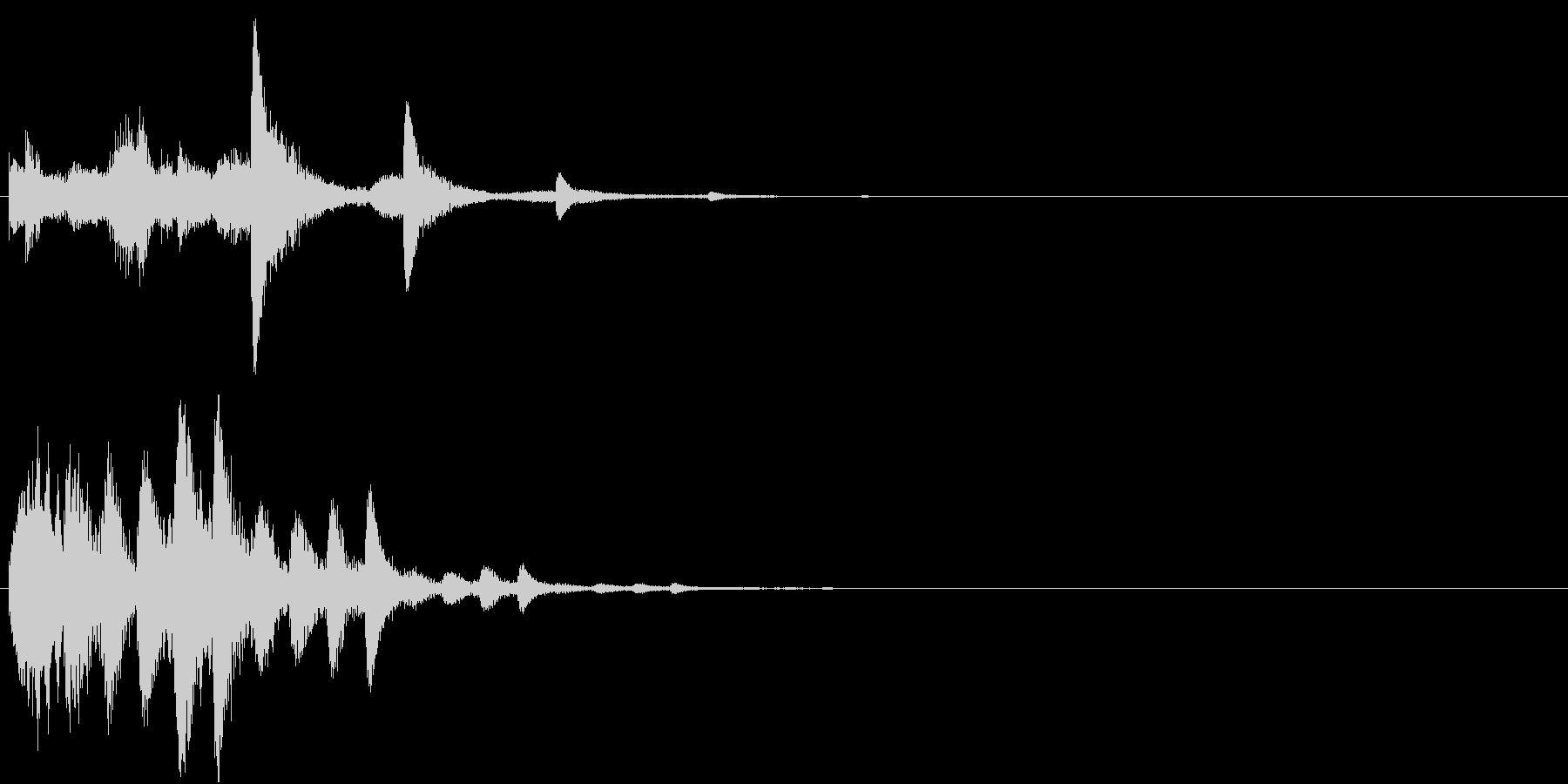 パラララパラランラン(パララン系装飾音)の未再生の波形