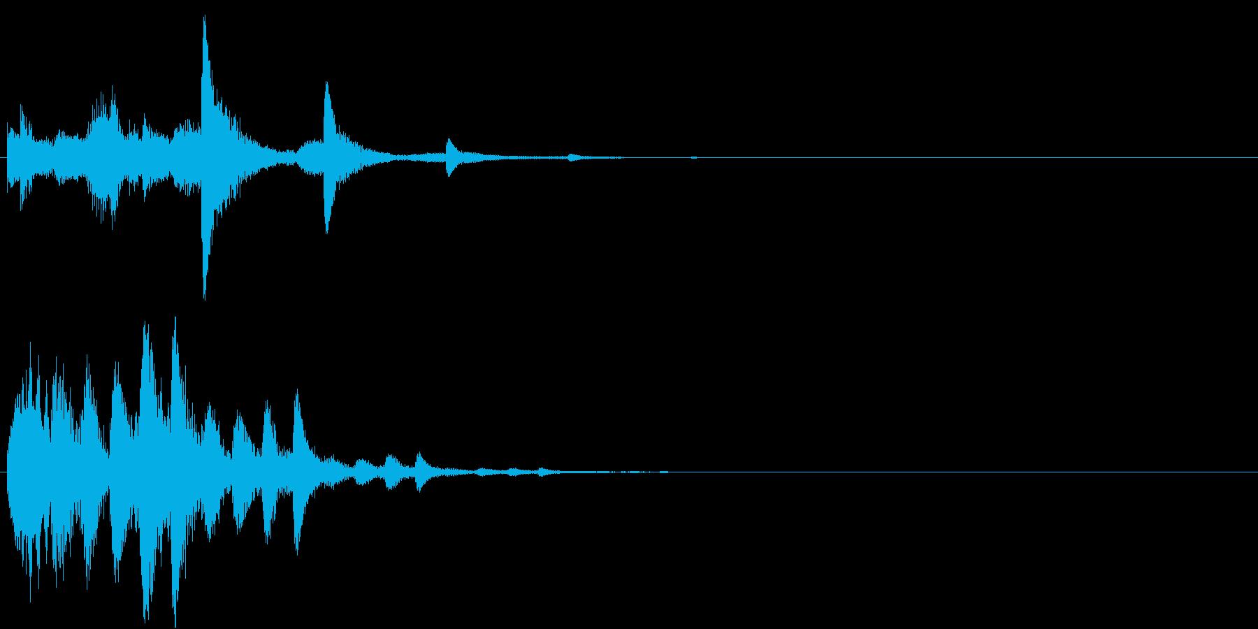 パラララパラランラン(パララン系装飾音)の再生済みの波形