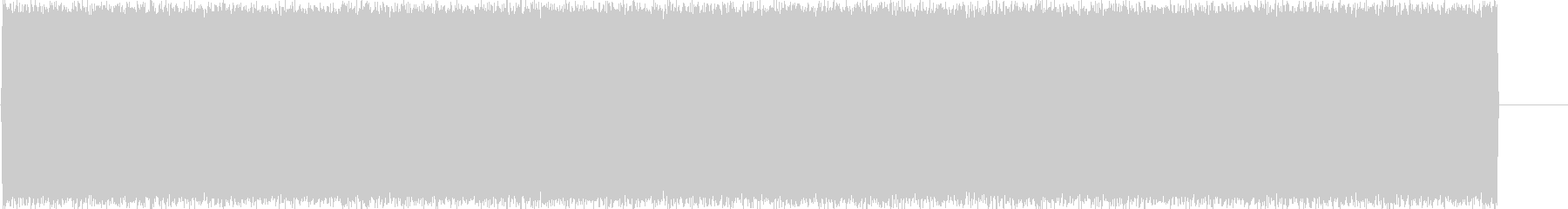 ビーム_ノイズの未再生の波形
