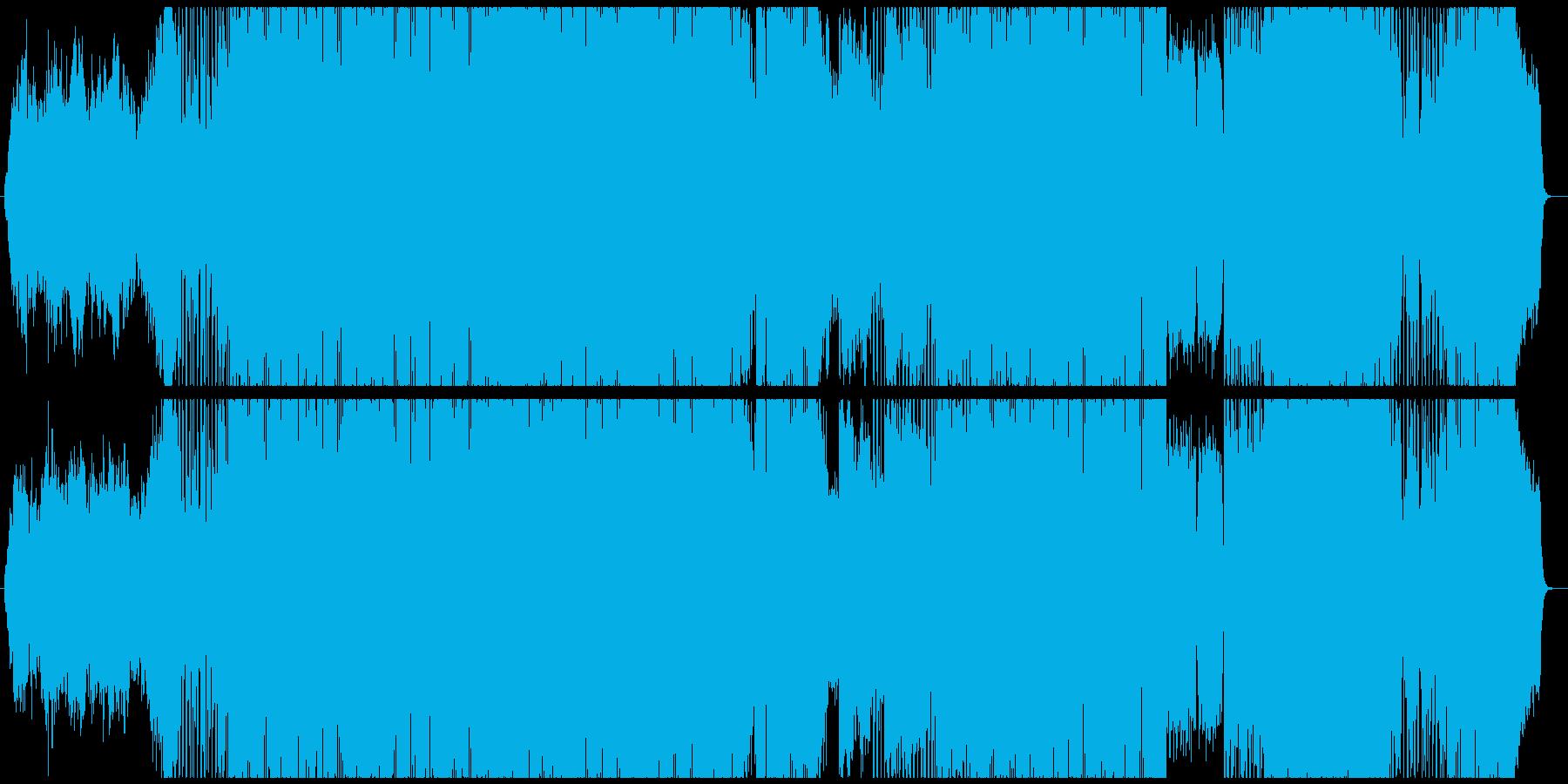 都会的でカッコいいトランペット曲Bの再生済みの波形
