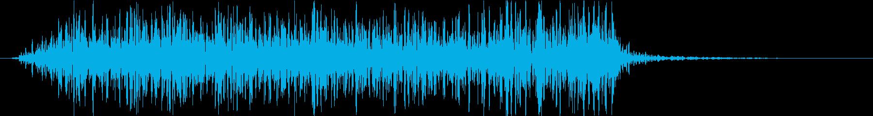トランジション 炎19の再生済みの波形
