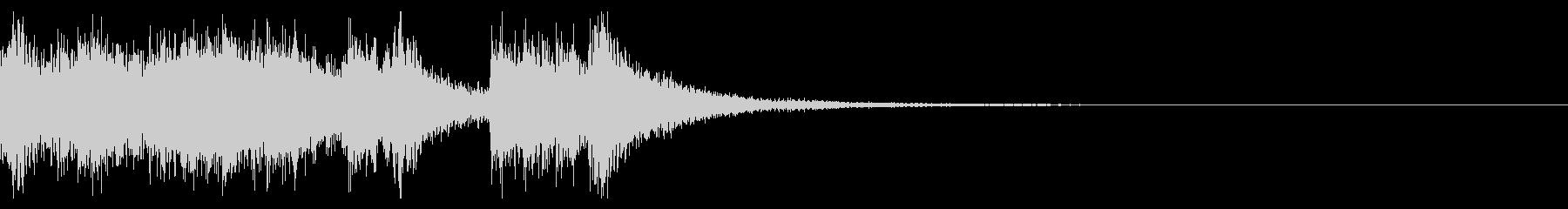 決戦のファンファーレ_定番02の未再生の波形