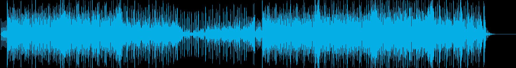 和風な昔風エレクトロポップスの再生済みの波形