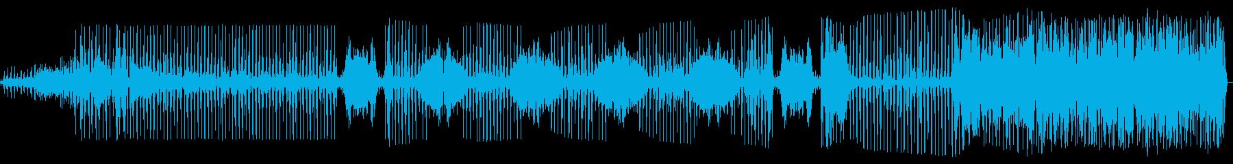 干渉のあるバンド全体の無線の調整の再生済みの波形