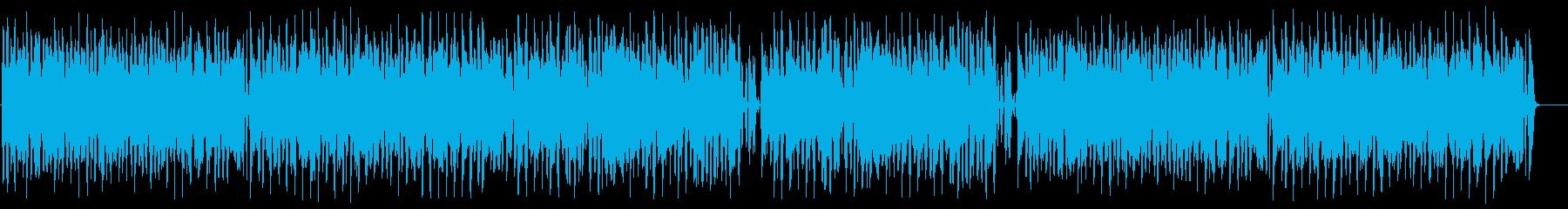 【ドラム&ベース抜き】ポップで陽気な口笛の再生済みの波形