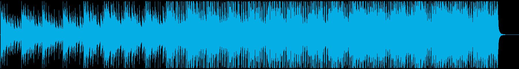 爽やかで透明感のあるオーガニックポップの再生済みの波形