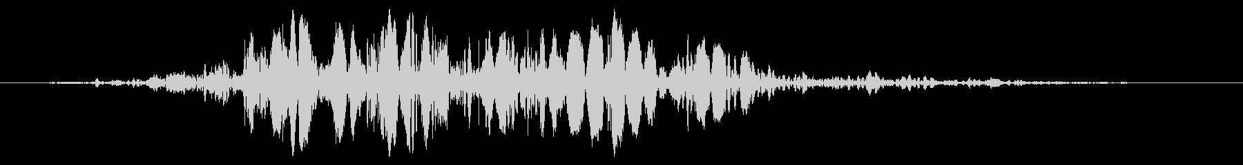 スライムなどが蠢く音タイプA#1の未再生の波形