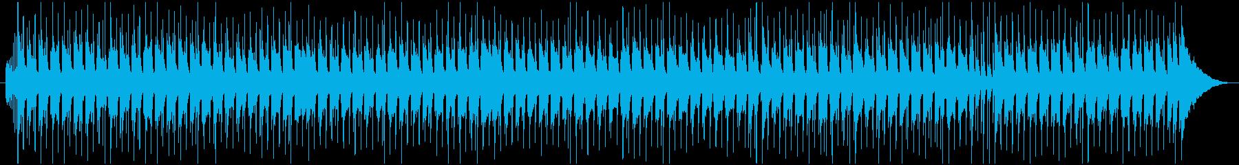 尺八と三味線でほのぼのした和風POPな曲の再生済みの波形