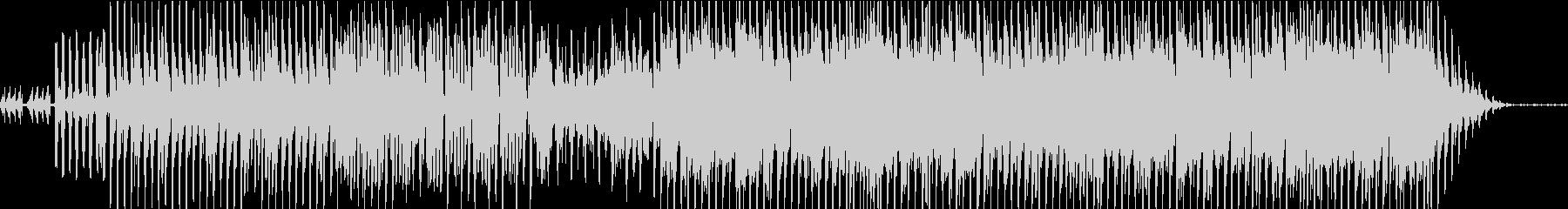 エレクトロなテクノポップの未再生の波形