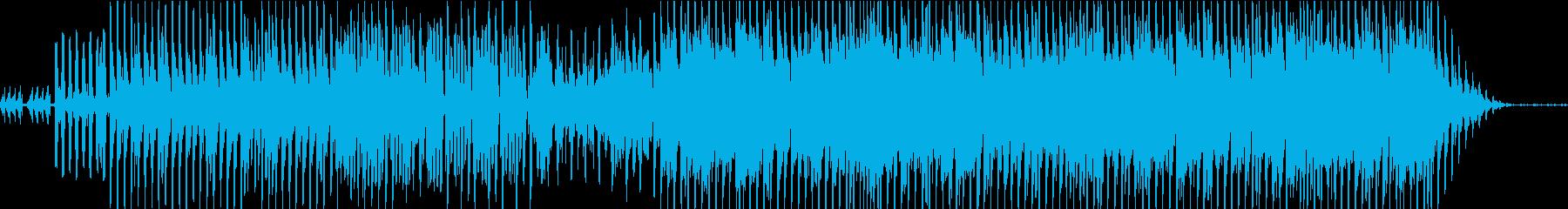 エレクトロなテクノポップの再生済みの波形