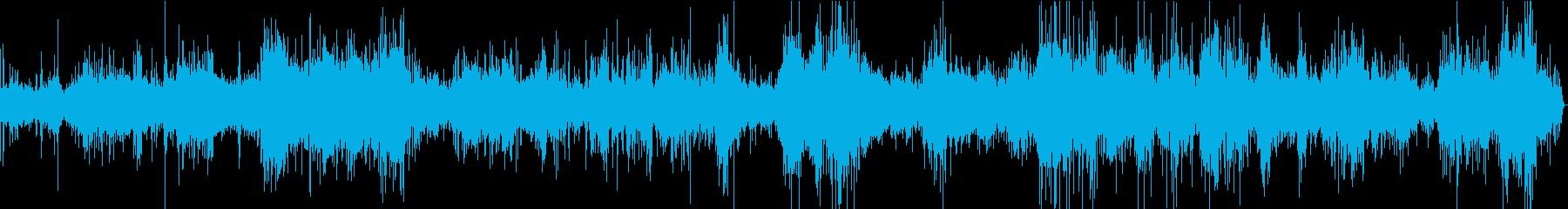 【生録音】キッチン環境音 揚げ焼き 2の再生済みの波形