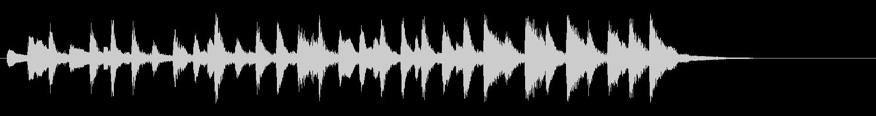 タランテッラ(ピエルネ作曲)の未再生の波形