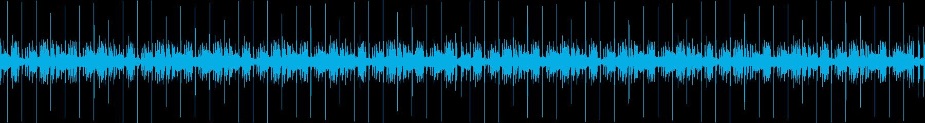 夏の終わりの様なメロウヒップホップビートの再生済みの波形