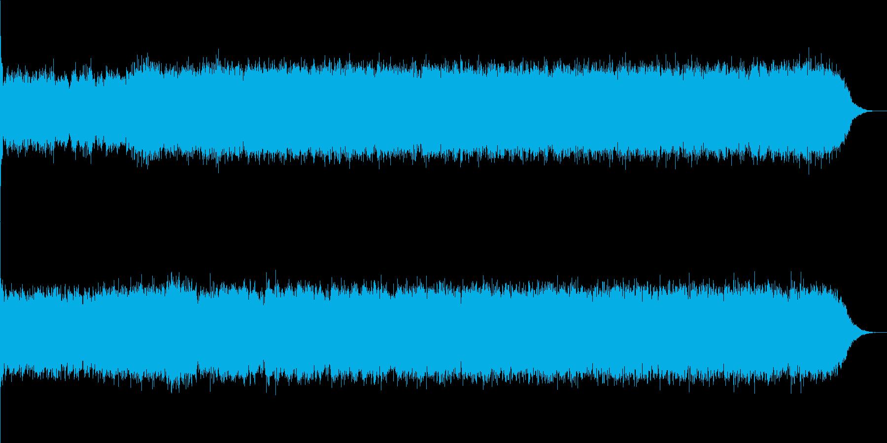 魔法のイメージの再生済みの波形