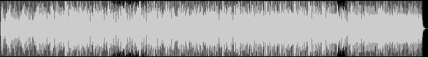 minimal dub technoの未再生の波形