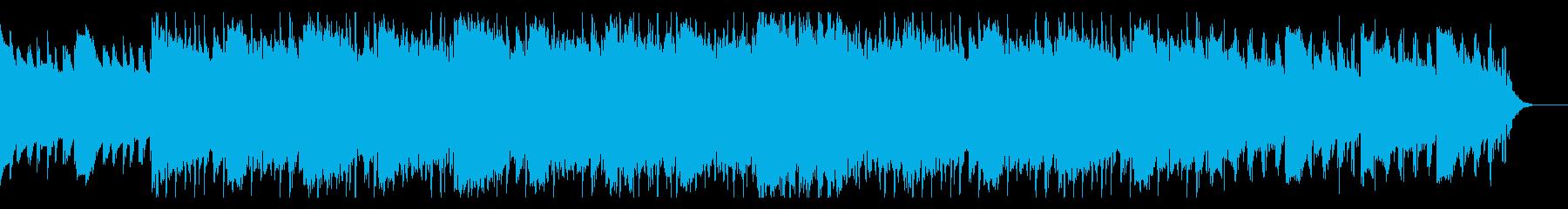 コーラス入り・ゆったりビート 1の再生済みの波形