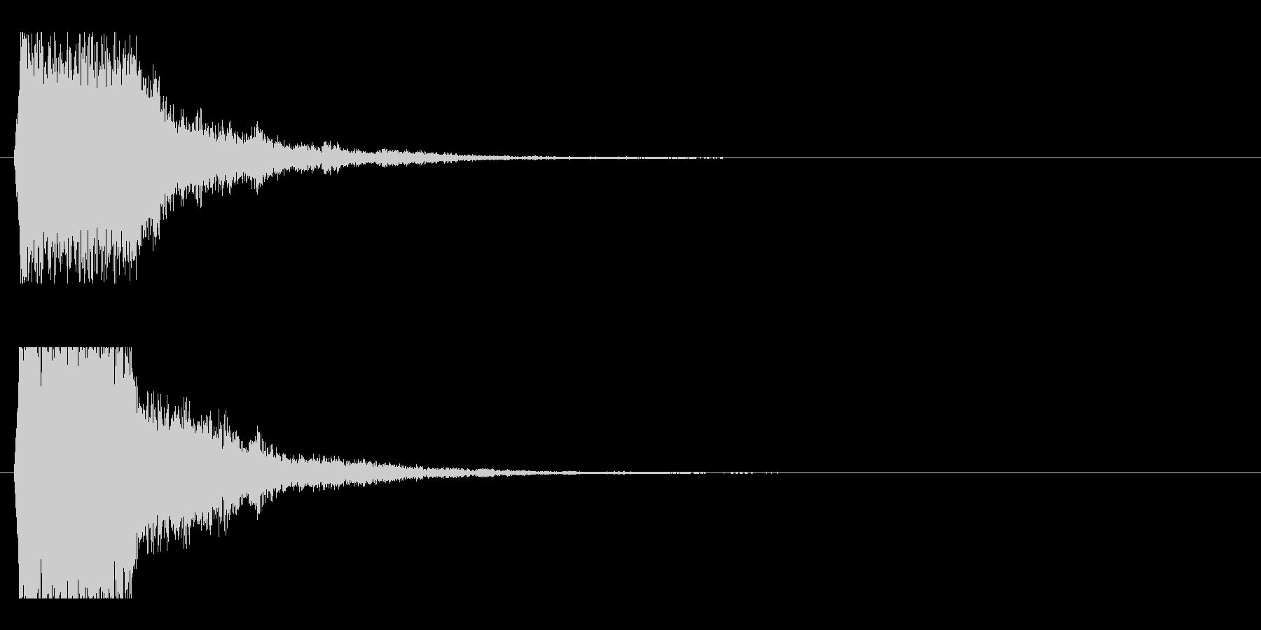 レーザー音-50-1の未再生の波形