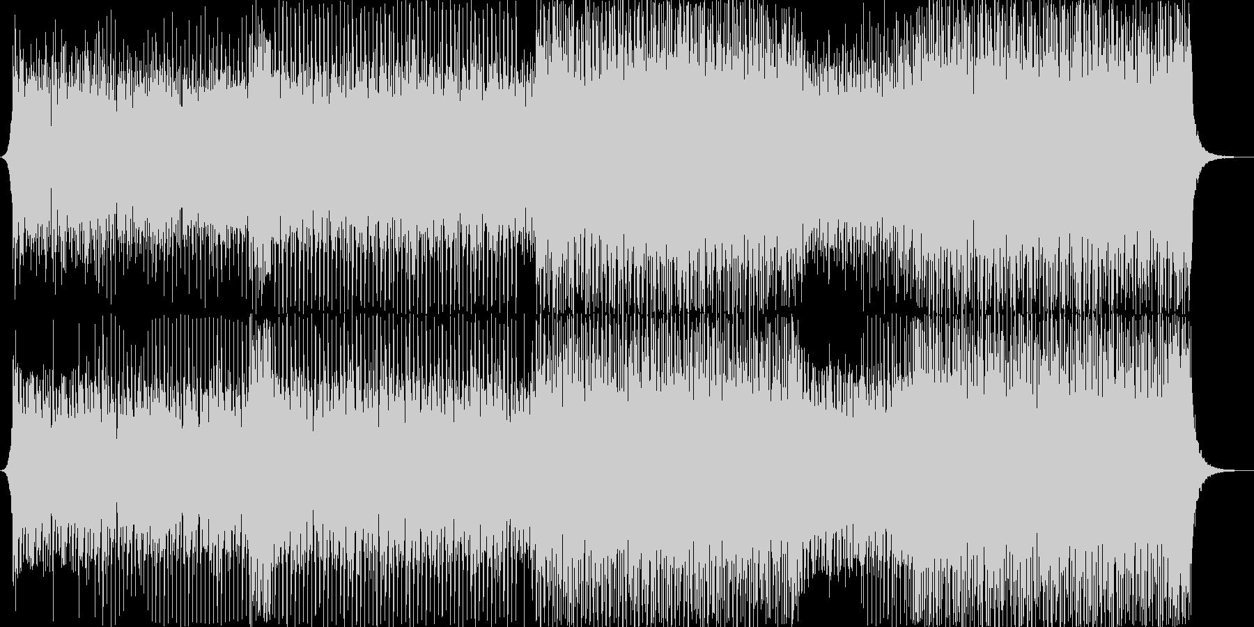 EDM系ダンスミュージック,夏フェスの未再生の波形