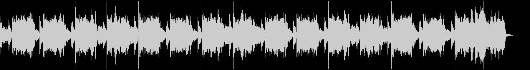30秒 軽快なハウスミュージックの未再生の波形