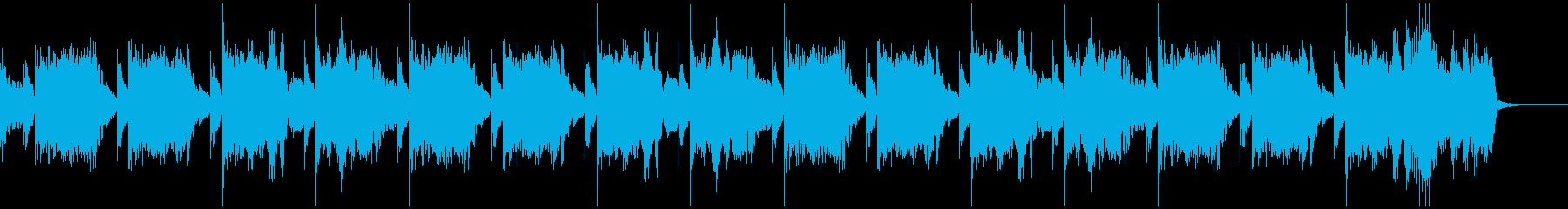 30秒 軽快なハウスミュージックの再生済みの波形