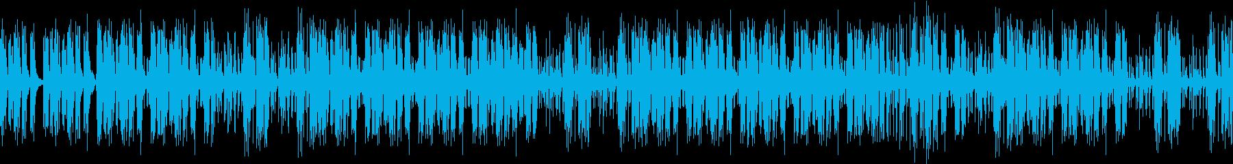 闇夜のスリルの再生済みの波形