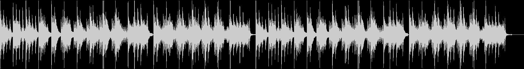 【ピアノソロ】ピアノメインの落ち着いたヒの未再生の波形