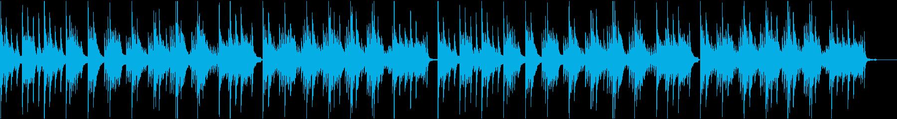 【ピアノソロ】ピアノメインの落ち着いたヒの再生済みの波形