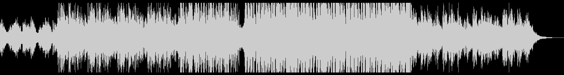 幻想的なピアノ系エレクトロニカの未再生の波形