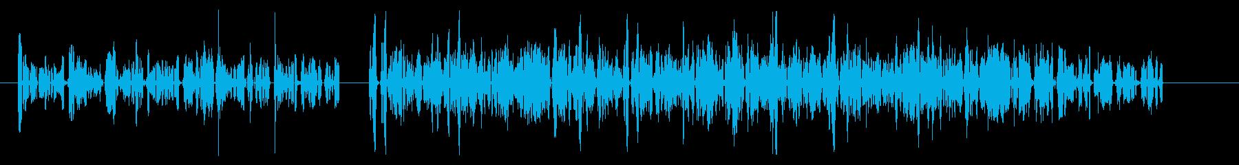 漫画-トーク-2バージョンの再生済みの波形