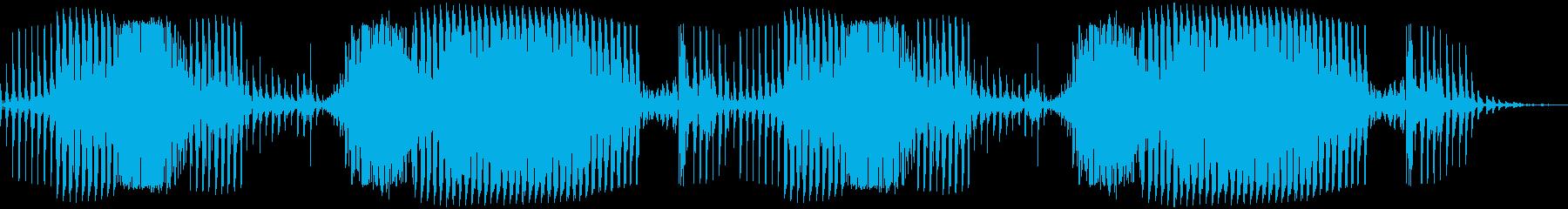 ロボット「MissionFailed」の再生済みの波形