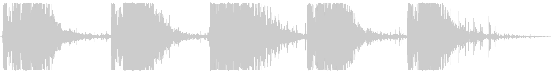 レーザーガン:ロックインパクトのあ...の未再生の波形