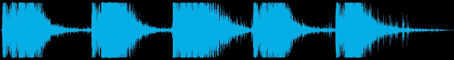 レーザーガン:ロックインパクトのあ...の再生済みの波形
