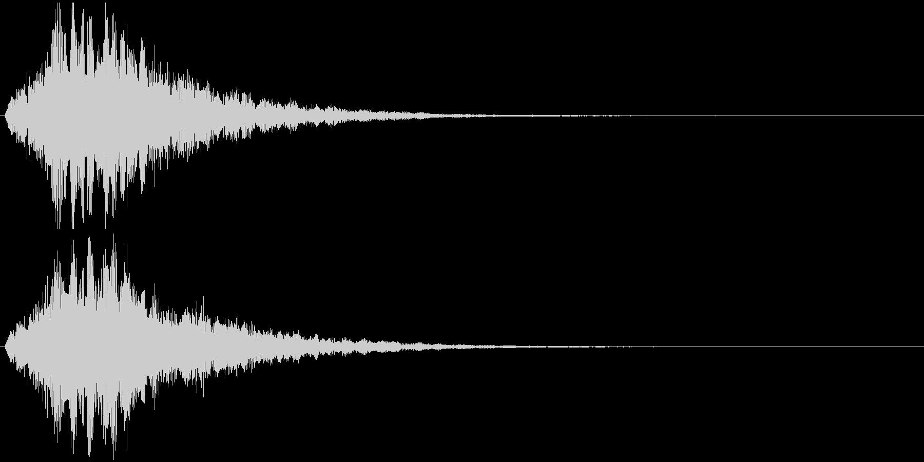 フワワワワーン 状態変化 魔法などの未再生の波形