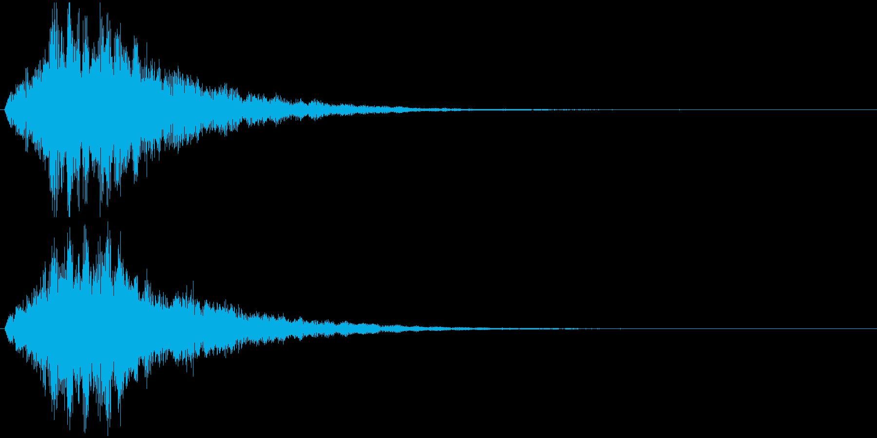 フワワワワーン 状態変化 魔法などの再生済みの波形
