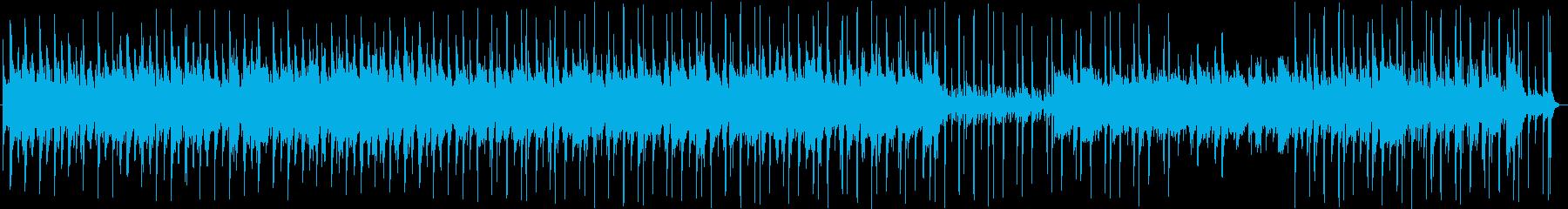 企業系VP等へ最適な明るくポップな音源の再生済みの波形