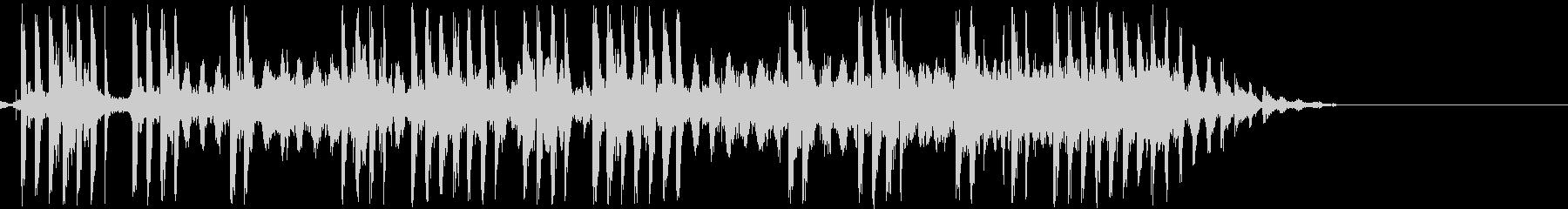 電気ショック/感電(ビリビリ/ビビビの未再生の波形